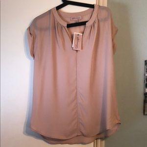 NWT Medium Light Pink Philosophy Shirt